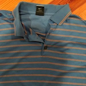 Nike golf polo size large